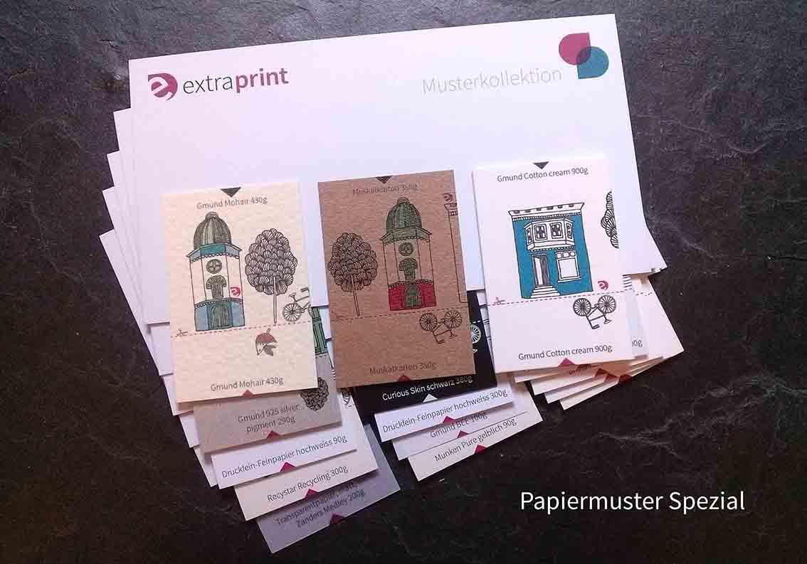 Spezialpapiere Bei Extraprint Extraprint Standard Papiermuster